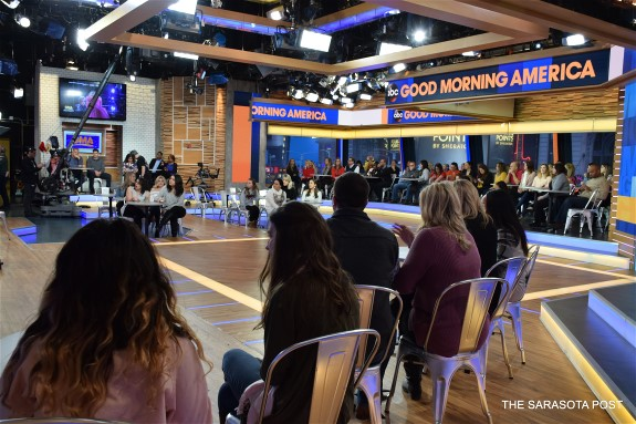 Good Morning America – Being on Live Television