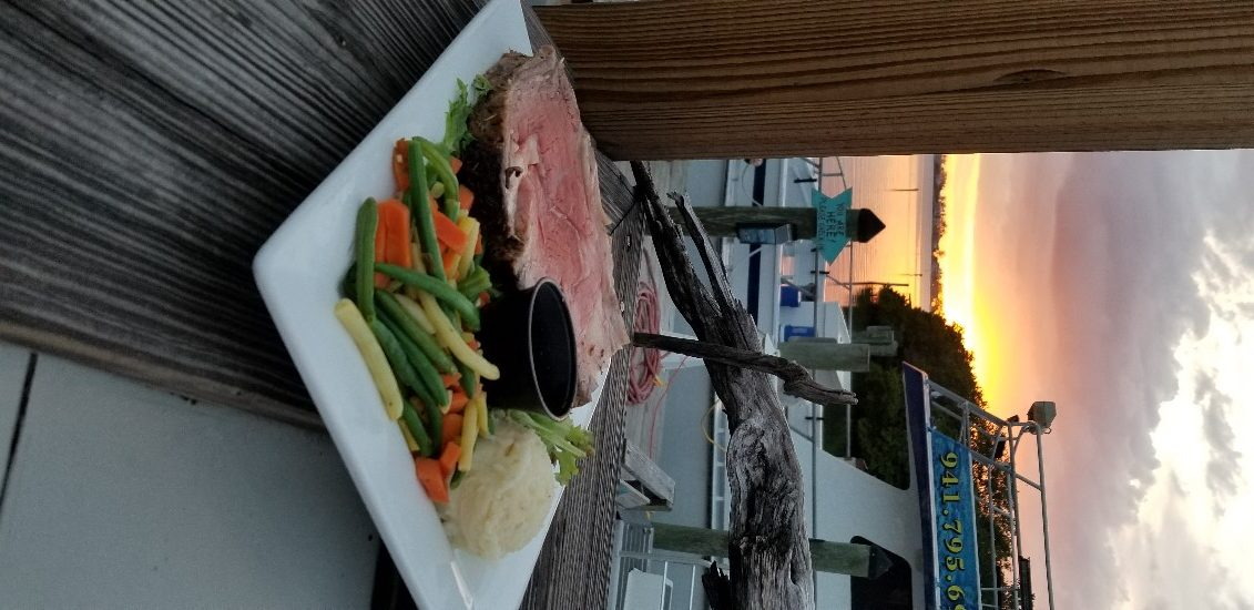 Prime Rib Dinner at the Swordfish Grill and Tiki
