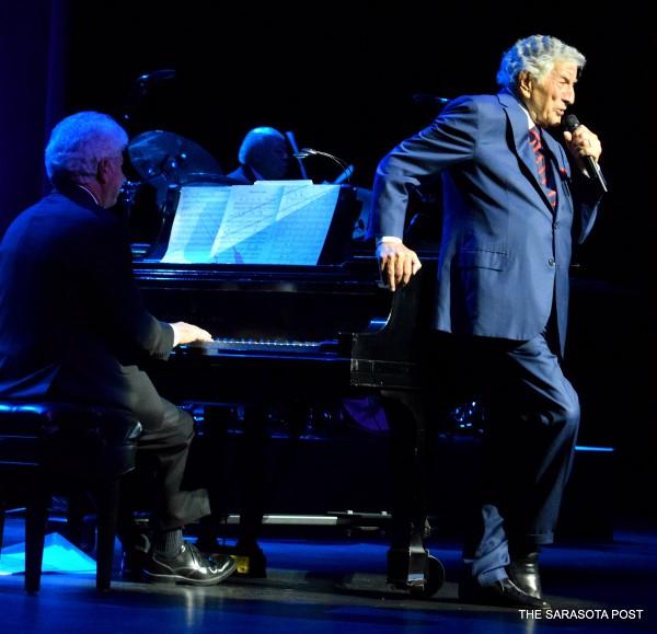 Tony Bennett at the Van Wezel Performing Arts Hall