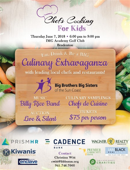 Chefs Cooking for Kids Manatee County