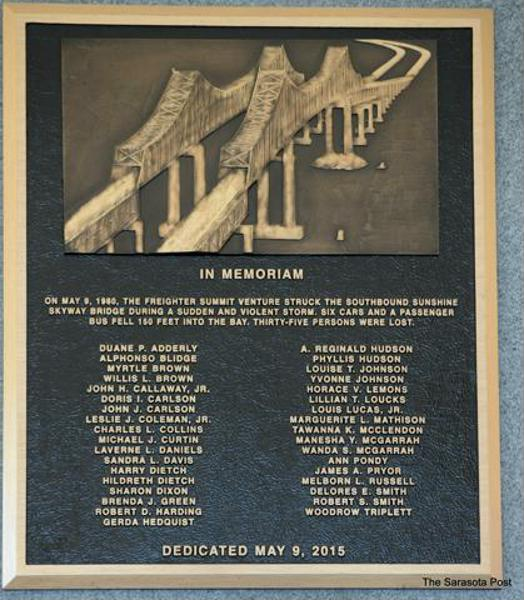 Sunshine Skyway Bridge Monument