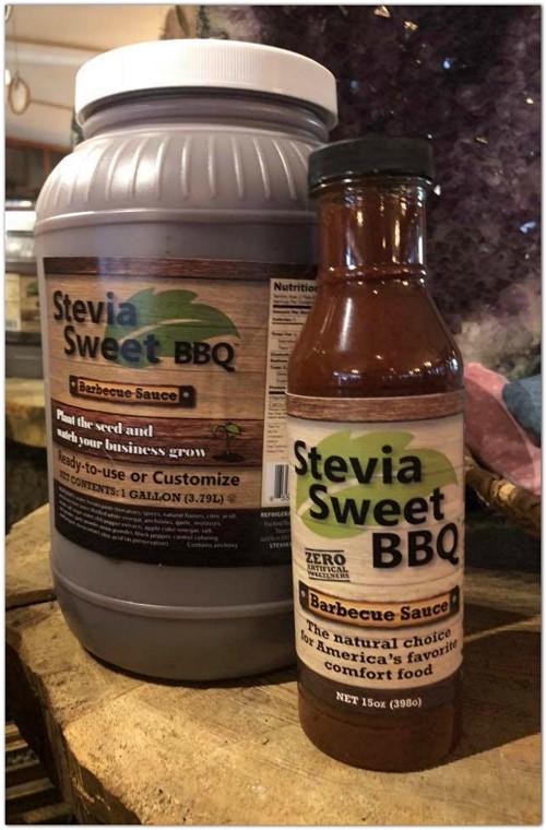Stevia Sweet BBQ Sauce