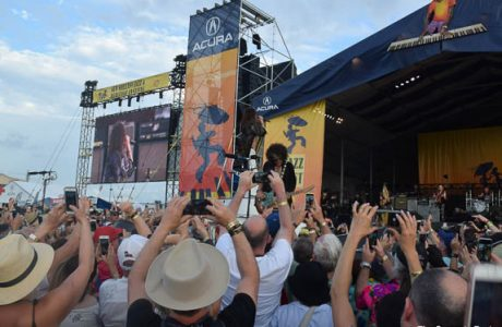 Aerosmith Celebrates New Orleans Jazz Fest 50th Anniversary