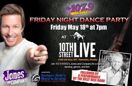 10th STREET LIVE Hosting 107.9 Friday Night Dance Party