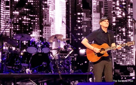 James Taylor at the Amalie Arena