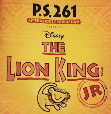 Brooklyn P.S. 261 Presents The Lion King JR- Oh How Special!
