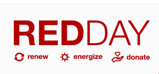Red Day, Renew-Energize-Donate