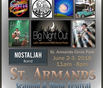 Great Seafood and Live Music on St. Armands Circle in Sarasota June 2-3