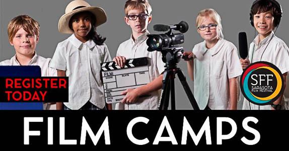 Register Today for Sarasota Film Festival's Summer Film Camps!