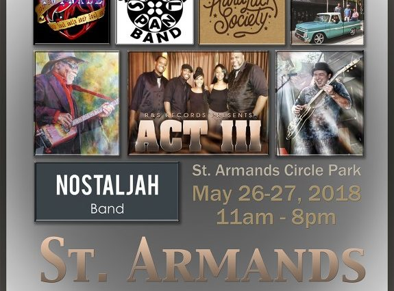 St. Armands Seafood & Music Festival Returns to St. Armands Circle Park on May 26-27, 2018