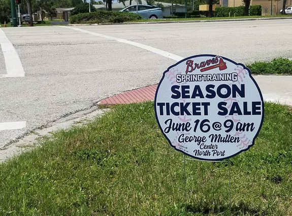 Sarasota County and North Port are Preparing for the Atlanta Braves