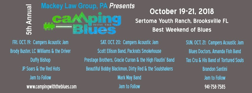 5th Annual Camping with the Blues at Sertoma Youth Ranch