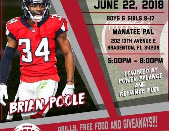 Manatee County Police Athletic League to host 2nd Annual Brian Poole Football Camp