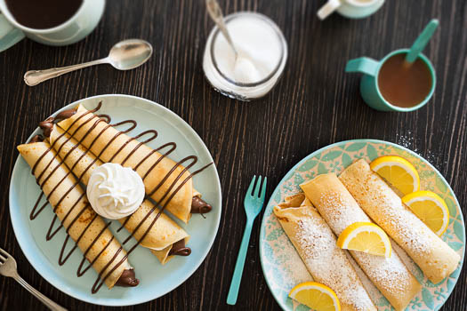 Wonderful desserts at Off the Hook, a restaurant participating in Savor Sarasota.