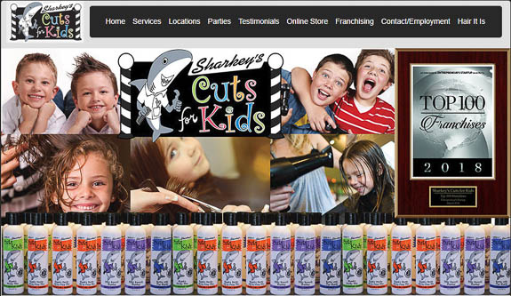 Sharkey's Cuts for Kids – A Fun Place to get a Haircut in Lakewood Ranch