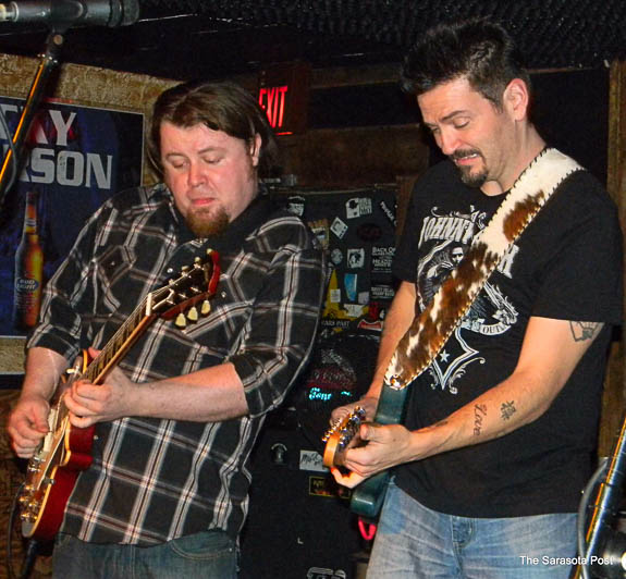 Mike Zito and Damon Fowler playing together at Ace's in Bradenton, FL