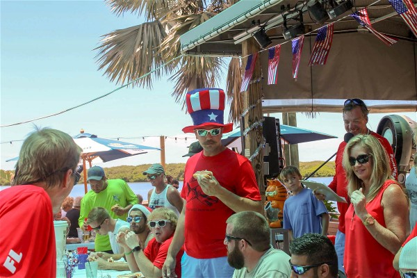 Swordfish Grill & Tiki 4th of July Hot Dog Eating Contest- Are You Ready?