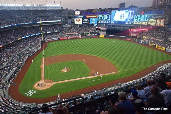 Yankee Stadium in the Bronx, NY