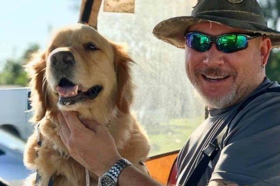 Christian Ulanch travels with his dog Ivan to get beautiful photos.