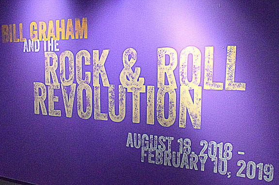 Florida Holocaust Museum in St. Petersburg, FL Hosts the Bill Graham Rock and Roll Revolution Exhibit