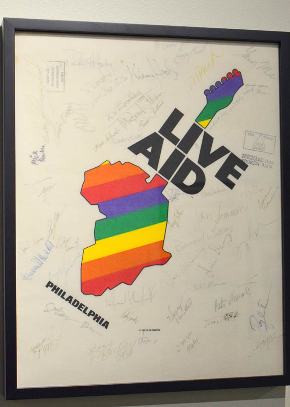 Bill Graham produced the Philadelphia portion of the Live Aid show.