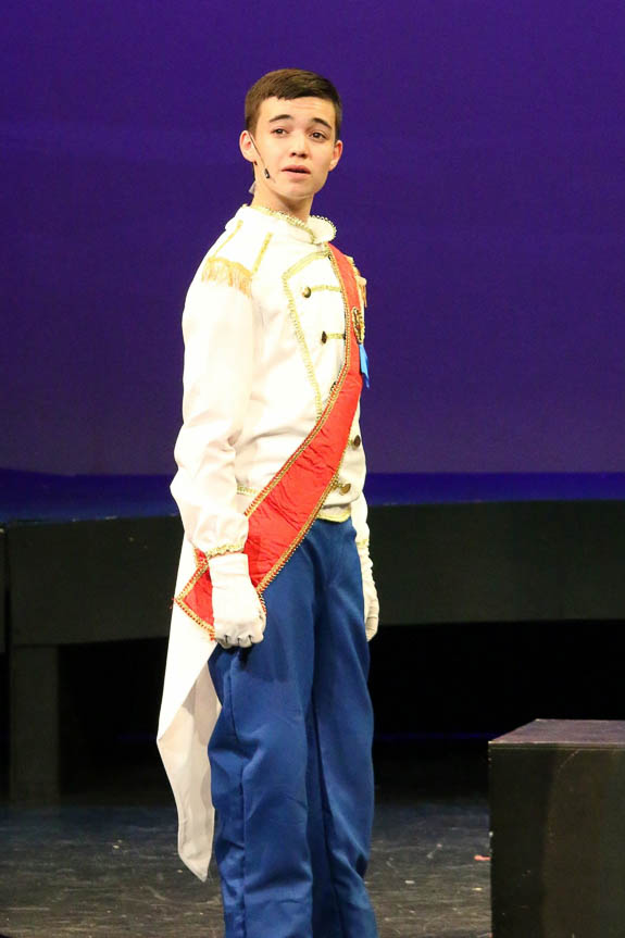 Owen DeMaio acts with Rise Above Performing Arts in Sarasota,FL