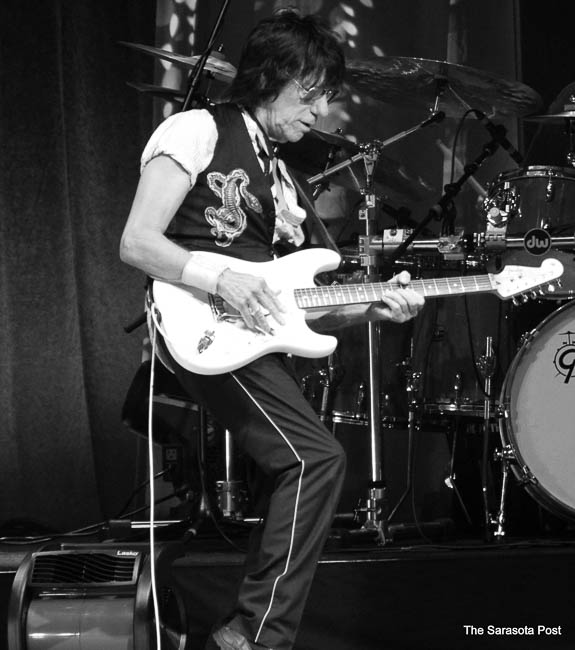 Jeff Beck at the Mid-Florida Amphitheater in Tampa, FL