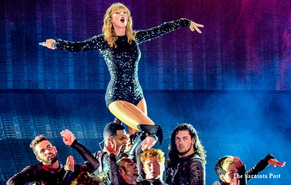 Taylor Swift S Reputation Tour Visits Tampa Florida S Raymond James Stadium The Suncoast Post