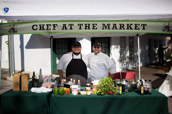 'Chef at the Market' features chefs from around the county at Bradenton Farmer's Market.