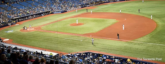 There have been great baseball players over the years at Tropicana Field in Tampa, FL