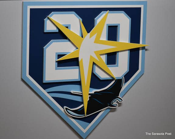 The Tampa Bay Rays are celebrating their 20th anniversary!
