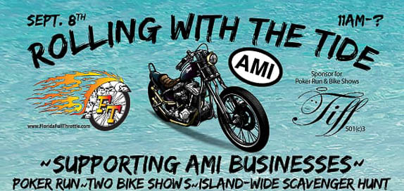 'Rolling With The Tide' To Support Anna Maria Island FL Businesses