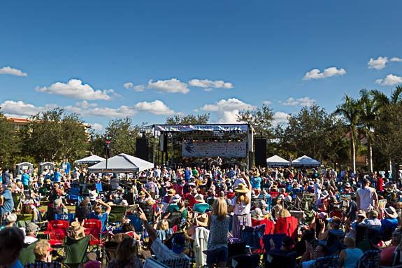 The Bradenton Blues Festival Showcases Bradenton-Area Businesses to Visitors
