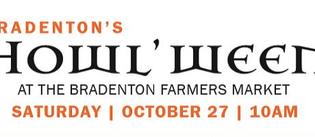 Bradenton Farmers' Market Howl'ween Pet Costume Contest and Parade on Oct. 27