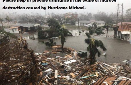Hurricane Michael Devastation- SunCoast Blood Bank Needs Your Help