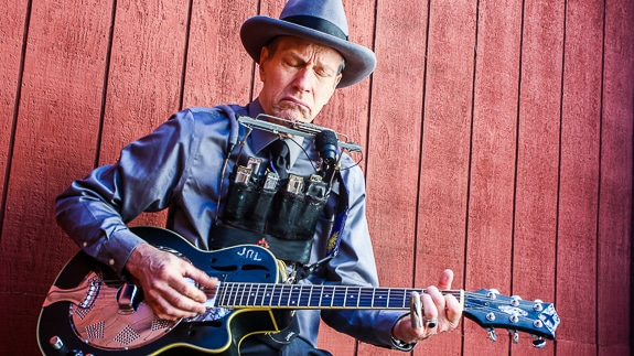 Traditional Delta Blues with Johnny Long Performing at Fogartyville in Sarasota, FL