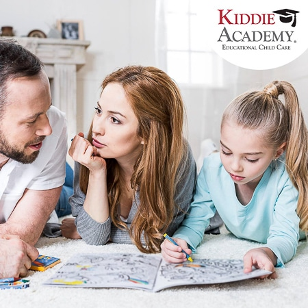 Kiddie Academy provides an educationally rich environment and care for children.
