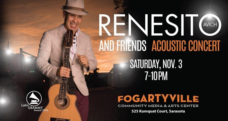 Renesito and Friends at Fogartyville in Sarasota