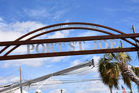 Port St. Joe was hit hard by hurricane Michael earlier this month.
