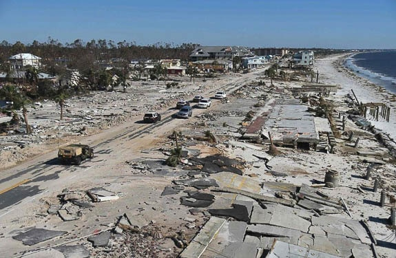 Hurricane Michael Relief Supplies Drop-Off at the Swordfish Grill and Tiki in Cortez