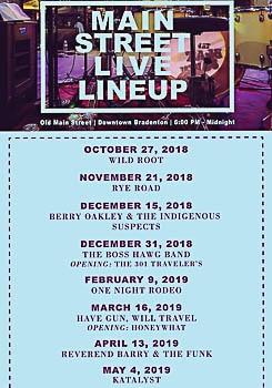 Old Main Street Live Kick Off in Bradenton, FL