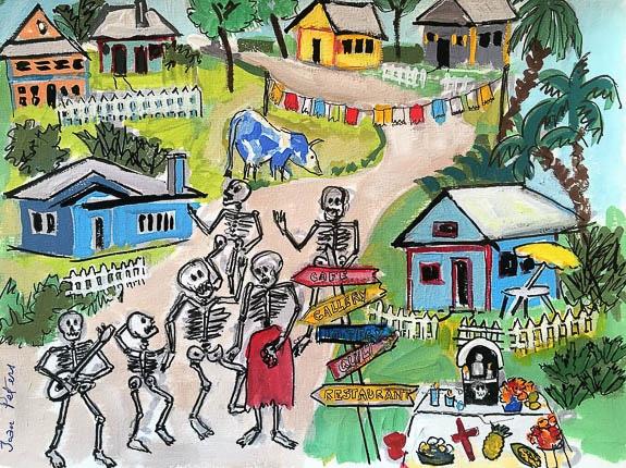 Dia de los Muertos at Village of the Arts in Bradenton, FL