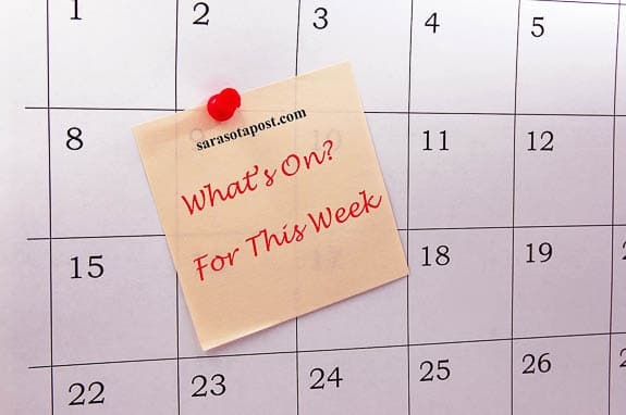 What's On? Events On The Suncoast This Week