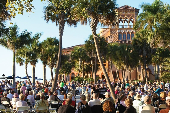 Ringling By the Bay Live Music and Dancing