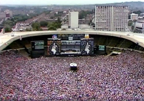 Queen performed at Live Aid in 1985