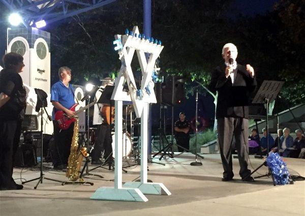 Celebrating Chanukah in Bradenton, Florida