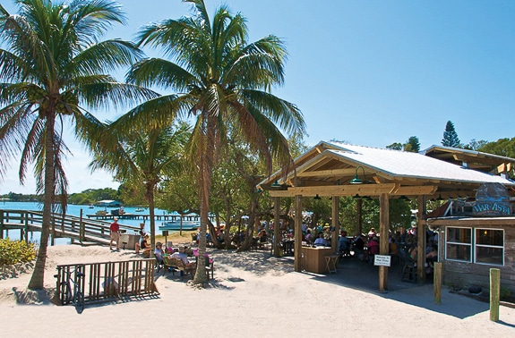 Chiles' Mar Vista Dockside Restaurant & Pub in on North Longboat Key FL