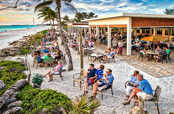 Chiles' Beach House Waterfront Restaurant in Bradenton Beach, FL