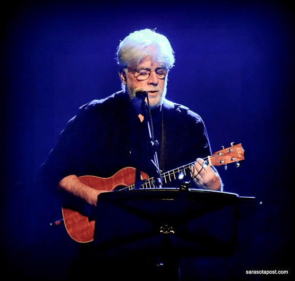 Michael McDonald sings and plays at the Capitol Theatre in Clearwater,FL
