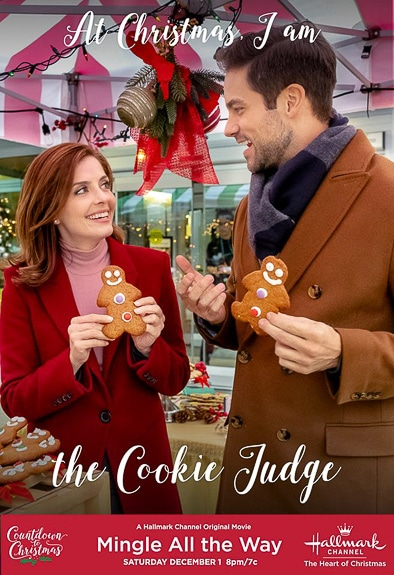 One of the many movies playing on The Hallmark Channel for the Holidays